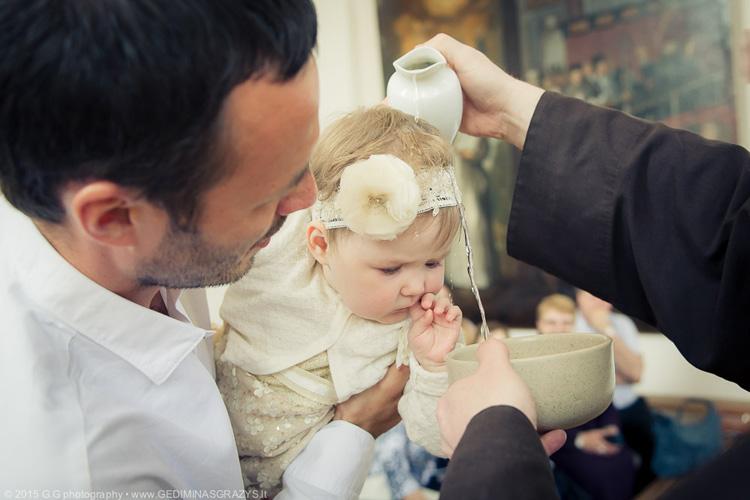 Krikštynų fotografija - Metute