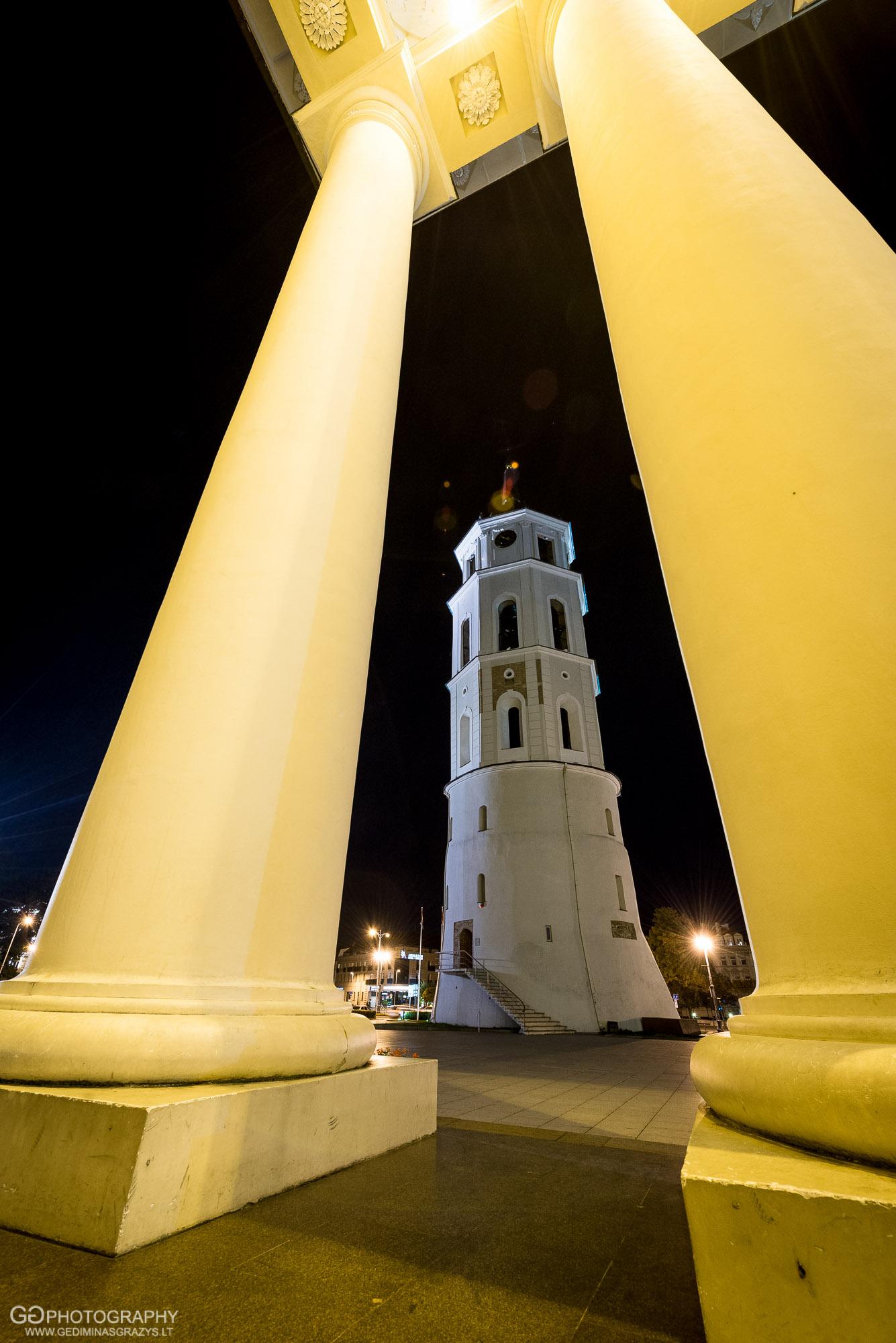 Miestas - Katedros bokštas