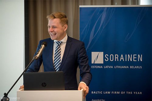 Konferencijos fotografavimas Sorainen