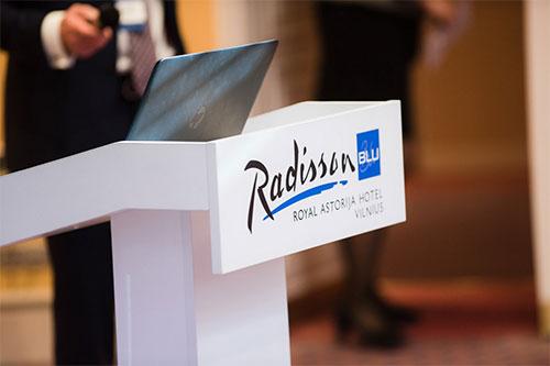 Konferencijos fotografavimas Radisson blue